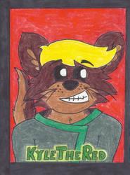 KyleTheOtter Badge by KieliIndustries