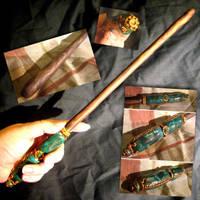 Jade wand by thedustyphoenix