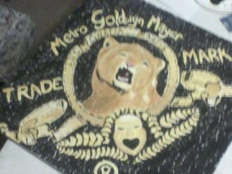 MGM Lion by Zurisbloodyrose