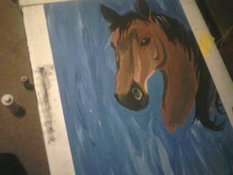 Horse request by Zurisbloodyrose