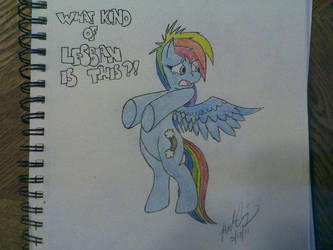 Lesbian Pony by Zurisbloodyrose