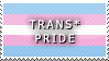 STAMP: Trans* Pride by FlameExorcist