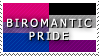 STAMP: Biromantic Pride by FlameExorcist