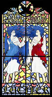 TSFH Stain Glass 3-- Lucifer by MPsai