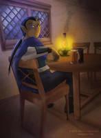 Dark Elf by MPsai
