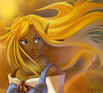 Sun Hair by MPsai