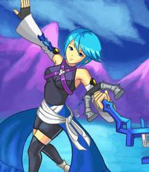 Aqua: Mountain Blast by Masanohashi