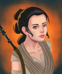 Star Wars: TFA Rey by Masanohashi