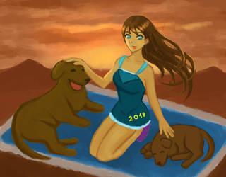 The year od a dog by Masanohashi