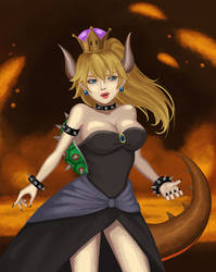 Bowsette by Masanohashi