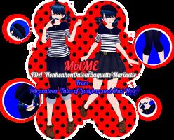 MotME - 'HonhonhonOuiouiBaguette' Marinette by ImNerdyWhoGivesADamn