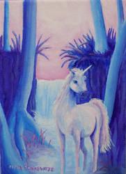 Unicorn by CindysFineArtStudio
