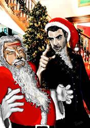Magic Christmas With Sylar by Akhilla