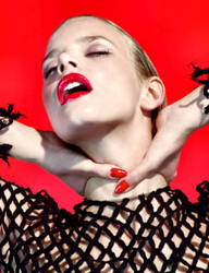 Marloes Chokehold In Red by pcurto