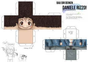 Craft your Daniele Rizzo! by anouki-morgenstern