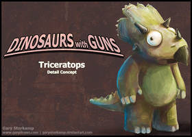 Triceratops Concept by GaryStorkamp