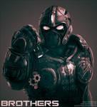 Clayton Carmine - Gears of War by GaryStorkamp