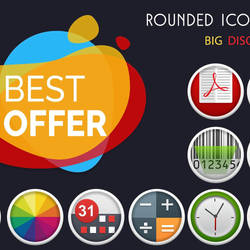 Rounded Icon Pack for Android by tari7