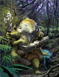 Contest Entry: Lizard Warlock by PossibleWorlds