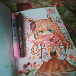 Sketch book doodle by pokemon-wolf