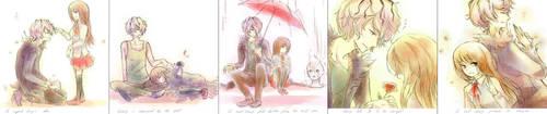 Ib and Garry by fuwishi