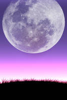 Close Up Moon 2 by SimplyBackgrounds