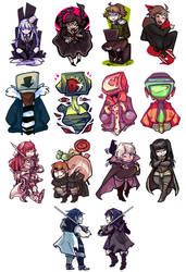 stickers by corviday