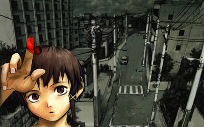 Lain streets: blood by Psyrax