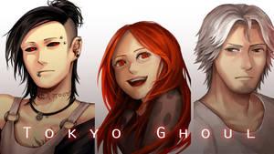 Tokyo Ghoul 2 by kitsu33