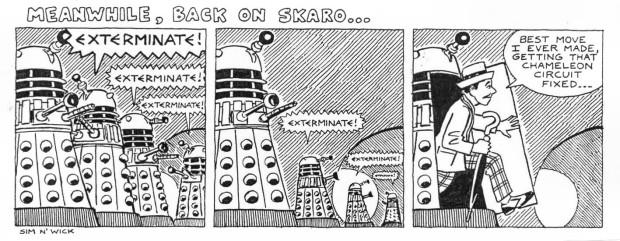 Meanwhile, Back on Skaro by WarwickGray