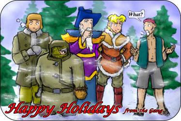 Happy Holidays by Elyandarin