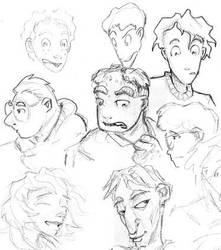Faces by Elyandarin