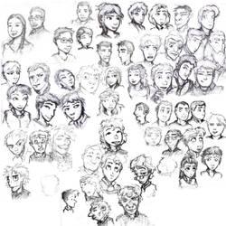 Sketchdump 2011 by Elyandarin
