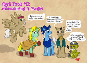 April Fools 2012: Adventuring is Magic! by Elyandarin