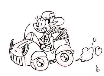 Jumpin' Jalopy Joyride by Atrox-C
