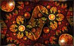 Fire Flowers by phudak78
