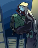 Spider-Gwen 02 by jdeberge