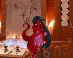 Wallpaper ~Grim Tales~ (Mimi) by manekofansub