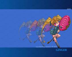 Wallpaper ~Sugar Bits~ (Ginger) by manekofansub