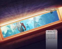 Calendario 2014 Bleedman (Marzo) by manekofansub