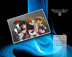 Calendario 2014 Bleedman (Enero) by manekofansub
