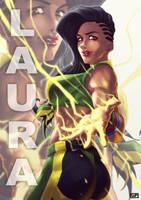 Laura - Street Fighter V by suppa-rider