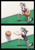 Medicine pumpkin training by misumi-illustration