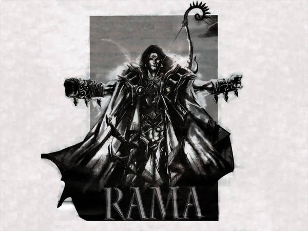 Rama's Rebirth - Kalki Avtar by aElien