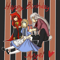 Happy Birthday Angel Colab by Reiruu