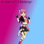 Uli Utskii Act 2 Redesign by Pawspals44