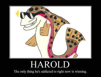Harold Motivational Poster by CinderclawTheStriker