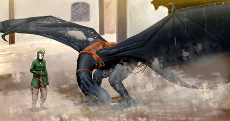Dark Wings by Tsumerai-Kyon