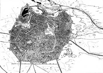 The city of Esiw by Tsumerai-Kyon