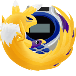 Renamon Firefox Icon by Tsumerai-Kyon